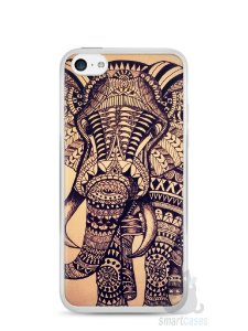 Capa Iphone 5C Elefante Tribal