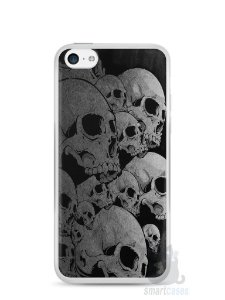 Capa Iphone 5C Caveiras
