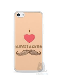 Capa Iphone 5C I Love Bigode #2
