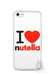 Capa Iphone 5C I Love Nutella