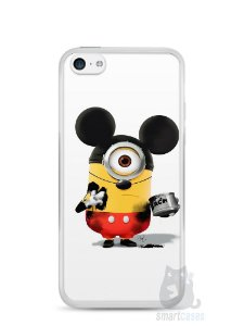 Capa Iphone 5C Minions Mickey Mouse