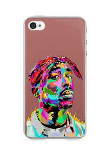 Capa Iphone 4/S Tupac Shakur #4