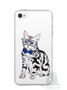 Capa Iphone 4/S Gato Estiloso
