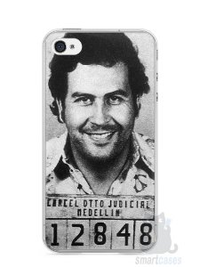 Capa Iphone 4/S Pablo Escobar