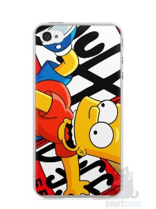 Capa Iphone 4/S Bart Simpson Duff