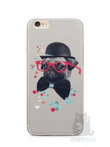 Capa Iphone 6/S Plus Cachorro Pug Estiloso #1