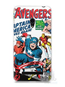 Capa Zenfone 5 The Avengers