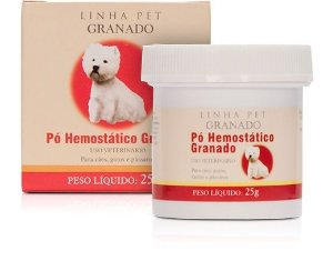 PÓ HEMOSTÁTICO ESTANCA SANGUE - GRANADO PET