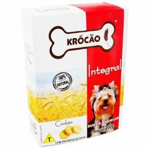 Krocão Biscoito Integral Cookies 200 gr