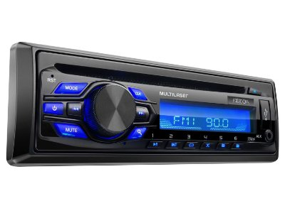 MP3 Player Som Automotivo Freedom USB Rádio FM P3239 - Multilaser