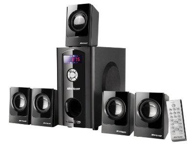 Home Theater 5.1 Surround 80w RMS Com USB SD FM SP10 - Multilaser