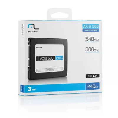 SSD Axis 500 Sata 3 240GB SS200 - Multilaser