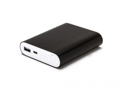 Power Bank Carregador Usb Celular Portátil E35 Preto 10400mAh