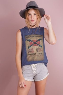 Muscle Tee Southern Country Rock Night