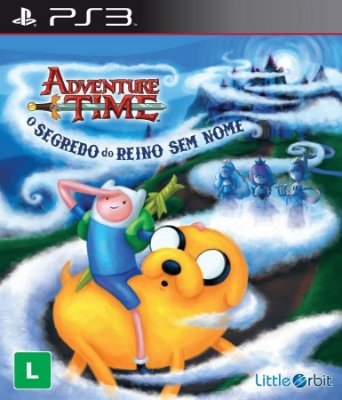 Adventure Time O Segredo do Reino Sem Nome - PS3 Novo Lacrado