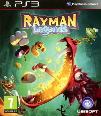 Rayman Legends - PS3 Mídia Fìsica Usado