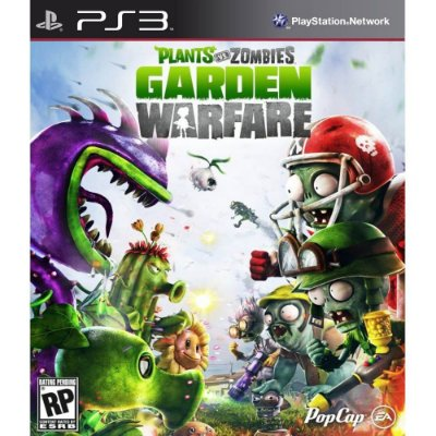 Plants vs Zombies Garden Warfare PS3 Mídia Física Usado