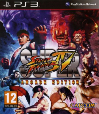 Super Street Fighter 4 Arcade Edition PS3 Mídia Física Usado