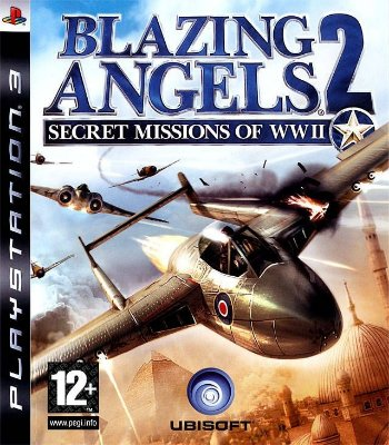 Blazing Angels 2 - PS3 Mídia Física Usado