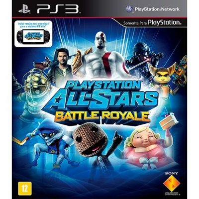 Playstation All-stars Battle Royale - Ps3 Mìdia Física Usado