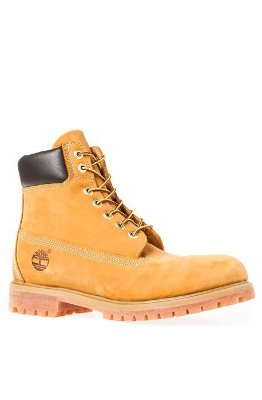 The Timberland Icon 6 Premium Boot in Wheat Nubuck
