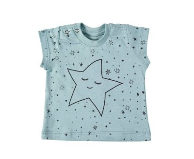 T-shirt Star Mint