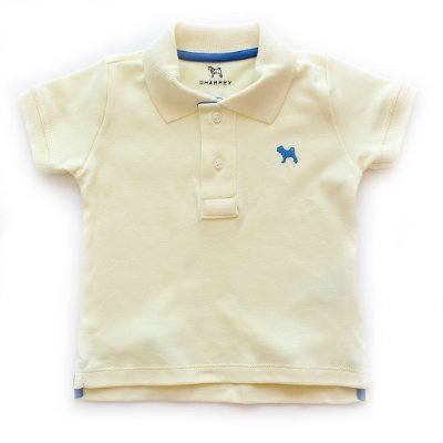 Polo Bulldog Color Amarelinha