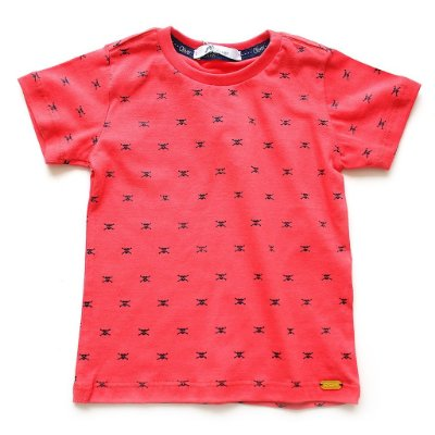 T-shirt Mini Skull Red