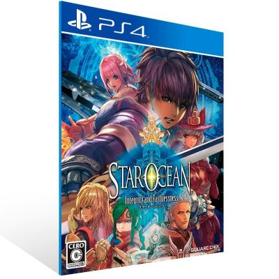 Star Ocean: Integrity And Faithlessness - Ps4 Psn Mídia Digital