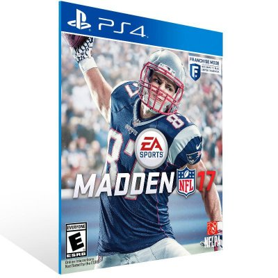 Madden Nfl 17 - Ps4 Psn Mídia Digital
