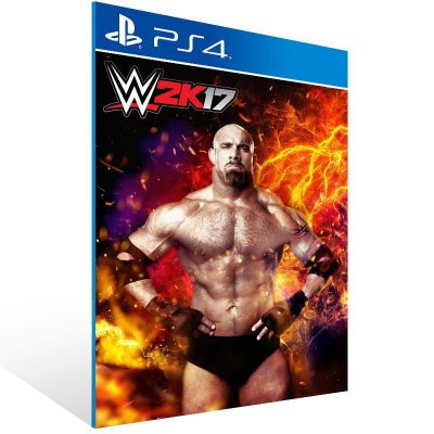 WWE 2K17 - Ps4 Psn Mídia Digital