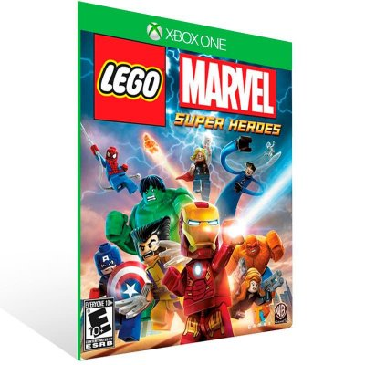 Lego Marvel Super Heroes - Xbox One Live Mídia Digital