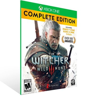 The Witcher 3: Wild Hunt Complete Edition - Xbox One Live Mídia Digital