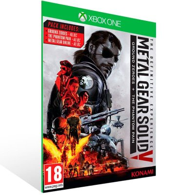 Metal Gear Solid 5: The Definitive Experience - Xbox One Live Mídia Digital