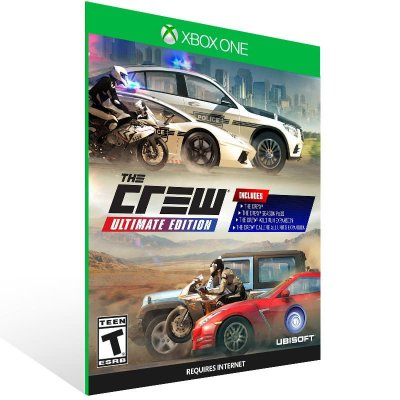 The Crew Ultimate Edition - Xbox One Live Mídia Digital
