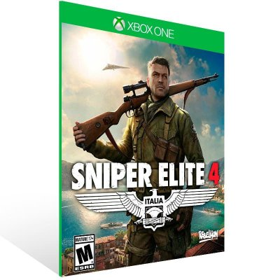 Sniper Elite 4 - Xbox One Live Mídia Digital
