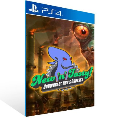 Oddworld New 'N' Tasty - Ps4 Psn Mídia Digital