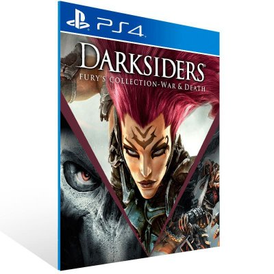 Darksiders Furys Collection War And Death - Ps4 Psn Mídia Digital