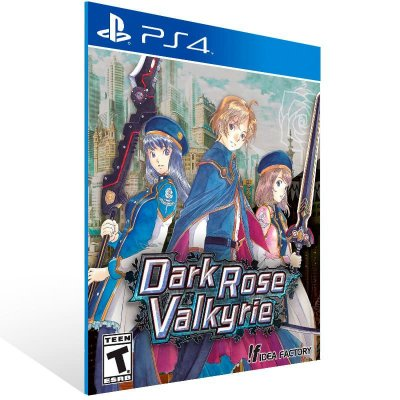 Dark Rose Valkyrie - Ps4 Psn Mídia Digital