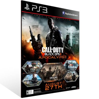 Call of Duty: Black Ops 2 Apocalypse - Ps3 Psn Midia Digital