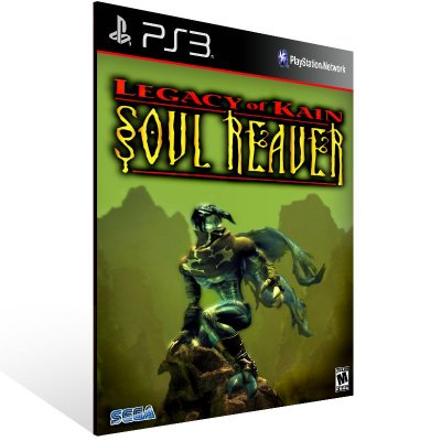 Legacy Of Kain: Soul Reaver - Ps3 Psn Mídia Digital