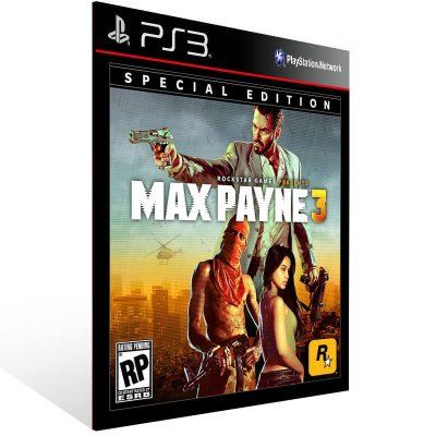 Max Payne 3 The Complete Edition - Ps3 Psn Midia Digital