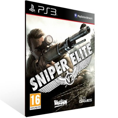 Sniper Elite V2 - Ps3 Psn Mídia Digital