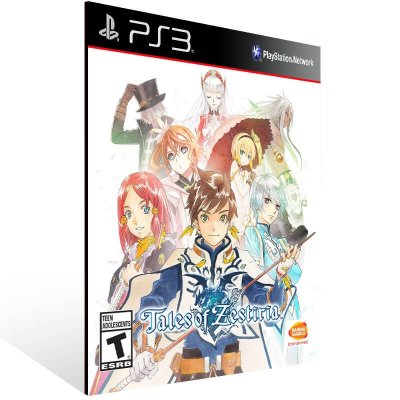 Tales Of Zestiria - Ps3 Psn Mídia Digital