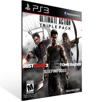 Ultimate Action Triple Pack - Ps3 Psn Mídia Digital