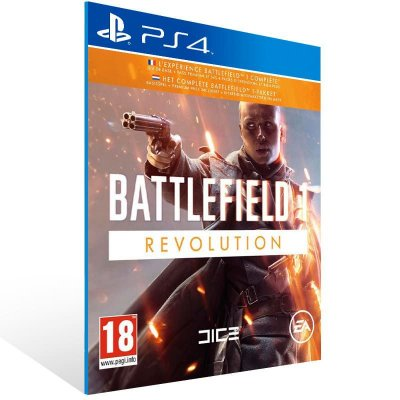 Battlefield 1 Revolution - Ps4 Psn Mídia Digital