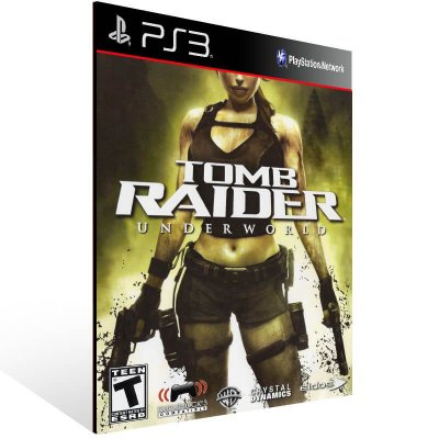 Tomb Raider Underworld - Ps3 Psn Mídia Digital