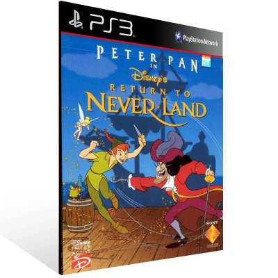 Peter Pan Return To Never Land (Psone Classic) - Ps3 Psn Mídia Digital