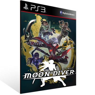 Moon Diver - Ps3 Psn Mídia Digital
