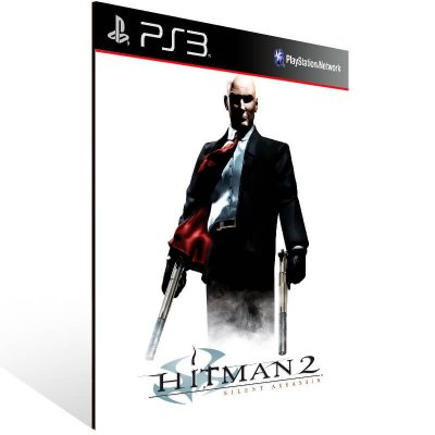 Hitman 2 Silent Assassin Hd - Ps3 Psn Mídia Digital